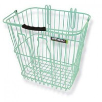 Olive - Basil Bottle Basket - Pastel Green - Bike Baskets