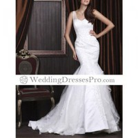 Beautiful Trumpet/ Mermaid Sweetheart Court Train Satin Tulle Wedding Dress (TTM017) [TTM017] - $174.99 : wedding fashion, wedding dress, bridal dresses, wedding shoes