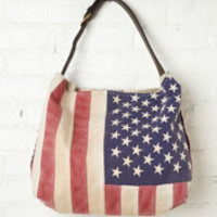 Totem Treasured Flag Tote at Free People Clothing Boutique