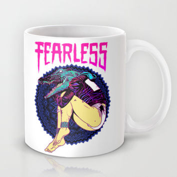 FEARLESS Mug by Lokhaan