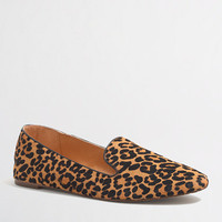 FACTORY ADDIE CALF HAIR LOAFERS