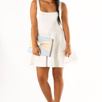 The Space Between Us Dress: White