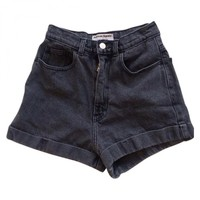 American apparel high-waisted shorts AMERICAN APPAREL Grey