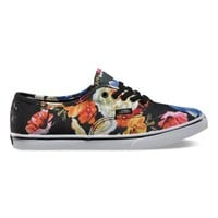 Vans Authentic Lo Pro Floral (black/true white)