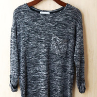Cozy and Chic Sweater, Charcoal