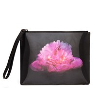 CHRISTOPHER KANE | Lenticular Blooming Peony Clutch | Browns fashion & designer clothes & clothing