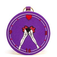 OLYMPIA LE-TAN | Russian Roulette Circular Clutch | Browns fashion & designer clothes & clothing