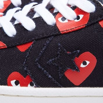 Comme des Garcons Play x Converse Pro Leather Low