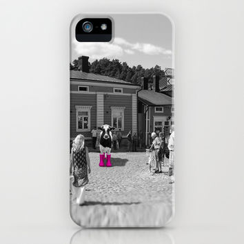 'Floyd's New Boots' - iPhone & iPod Case by Hogan Finland