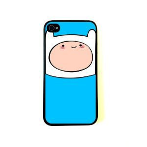 Finn Adventure Time inspired iPhone 4 Case