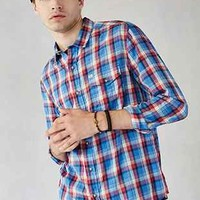 Salt Valley ELSN Plaid Button-Down Shirt - Urban Outfitters