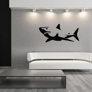 Vinyl Wall Decal Shark 22303