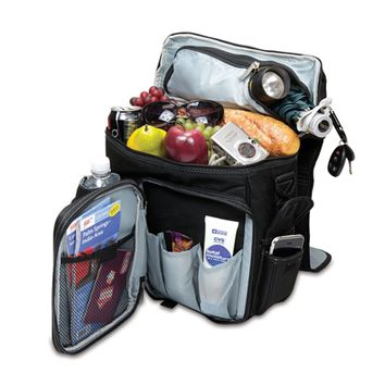 SheilaShrubs.com: Turismo Cooler Backpack - Black 641-00-175-000-0 by Picnic Time : Coolers