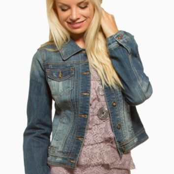 YMI MEDIUM DENIM JACKET