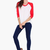 Red Sox Baseball Tee