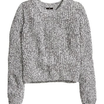 Rib-knit Top - from H&M