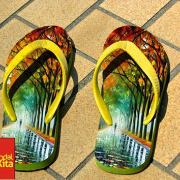 Flip Flops - Beautiful Art Tree