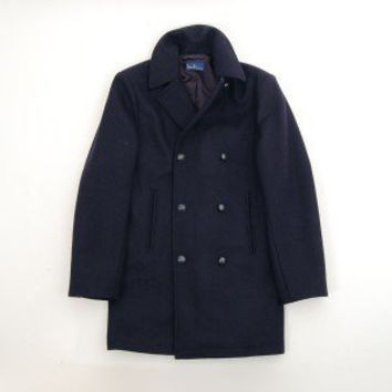 Men's Navy Peacoat - La Belle Échoppe