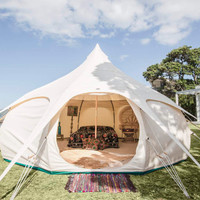 16ft Lotus Belle Original Tent yurt, burning man, glamping festival tent
