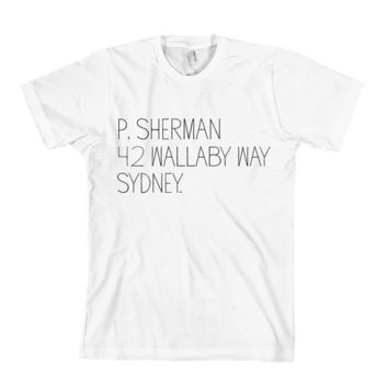 P. Sherman T-Shirt Finding Nemo - Limited Edition - American Apparel Unisex Sizes S, M, L, XL - Custom Color