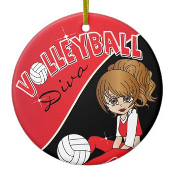 Volleyball Diva Girl