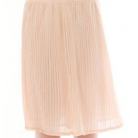 BELTED PLEATED SKIRT @ KiwiLook fashion