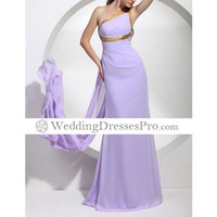 2012 Style Trumpet/ Mermaid One Shoulder Floor-length Sleeveless Chiffon Evening/ Prom Dress (TEDXL112) [TEDXL112] - $98.29 : wedding fashion, wedding dress, bridal dresses, wedding shoes