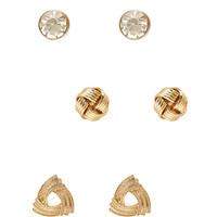 Knotted Stud Set