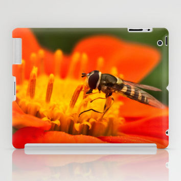 Native Pollinators 1 iPad Case by Legends of Darkness Photography