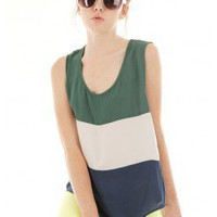 COLOR BLOCK TOP @ KiwiLook fashion