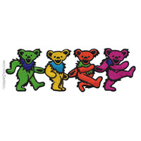 Grateful Dead - Dancing Bears Four Patch on Sale for $4.99 at HippieShop.com