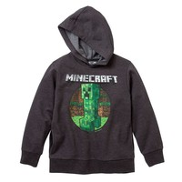 Minecraft Retro Creeper Hoodie - Boys 8-20 (Black)