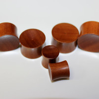 Real gauge,Natural sono wood,hand made,tribal,plugs,14mm.16mm,20mm,22mm,tribal style