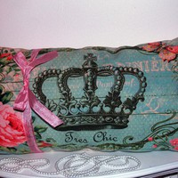 Tres Chic French Royal Crown Shabby Ornate Home by RoyalBebeShoppe