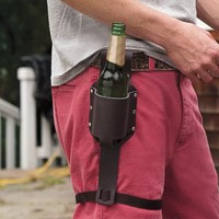 Leather Beer Holster from RedEnvelope.com