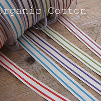 Organic Cotton Ribbon