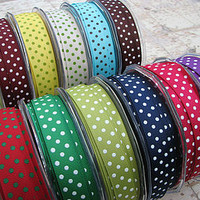 Dotty Spotty Grosgrain Ribbon