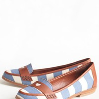 beatnik baby striped loafers by Shelly's at ShopRuche.com