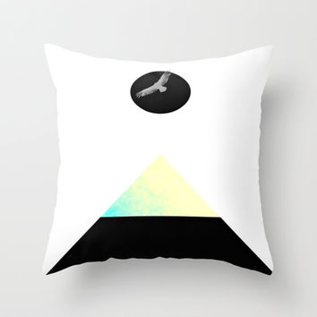 Be Bold & Free Throw Pillow by DuckyB (Brandi)
