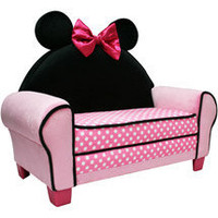 Walmart: Disney Minnie Mouse Sofa