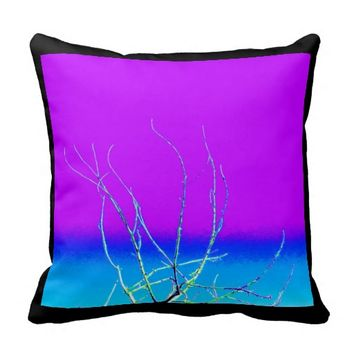 Tree Branches Pillow