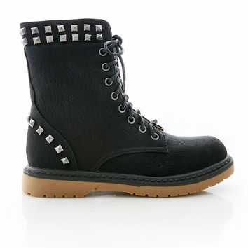 Studded Resistance Boots | Edgy Boots at Pink Ice