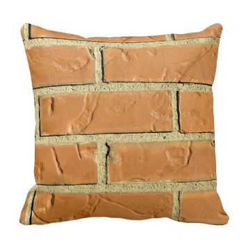Brick Wall Pillow