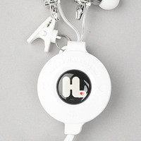 The Harajuku Lovers Space Age In-Ear Headphones with Interchangeable Gwen Bodies from Monster