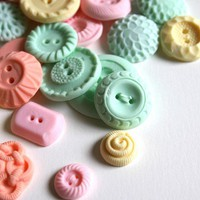 Peppermint Candy Buttons SAMPLE 15 by andiespecialtysweets on Etsy