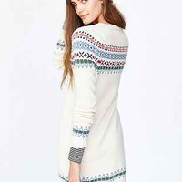 RYDER Fair Isle Sweater Dress - Urban Outfitters