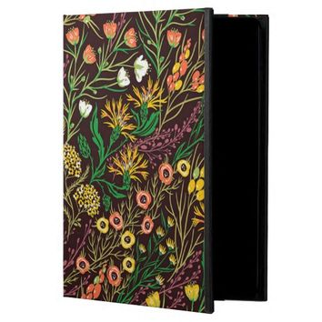 Botanic Garden Floral Pattern Apple iPad Air Case