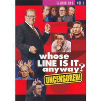 Whose Line Is It Anyway: Season 1, Vol. 1 (2 Discs) (Uncensored) (Dual-layered DVD)