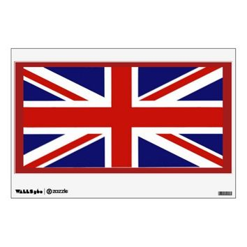 British Flag Wall Decal