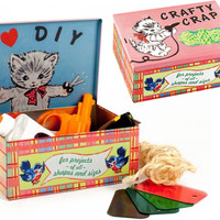 CRAFTY CRAP BOX